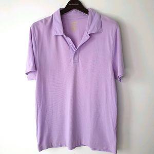 MARCS Size M Mens Purple Polo 100% Cotton